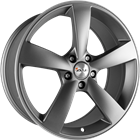 AVUS Racing AF10 - Anthracite polished 8,50x19 5x112,00 ET35,00