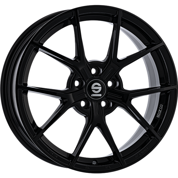 Sparco Podio Gloss Black 7,50x17 5x112,00 ET35,00