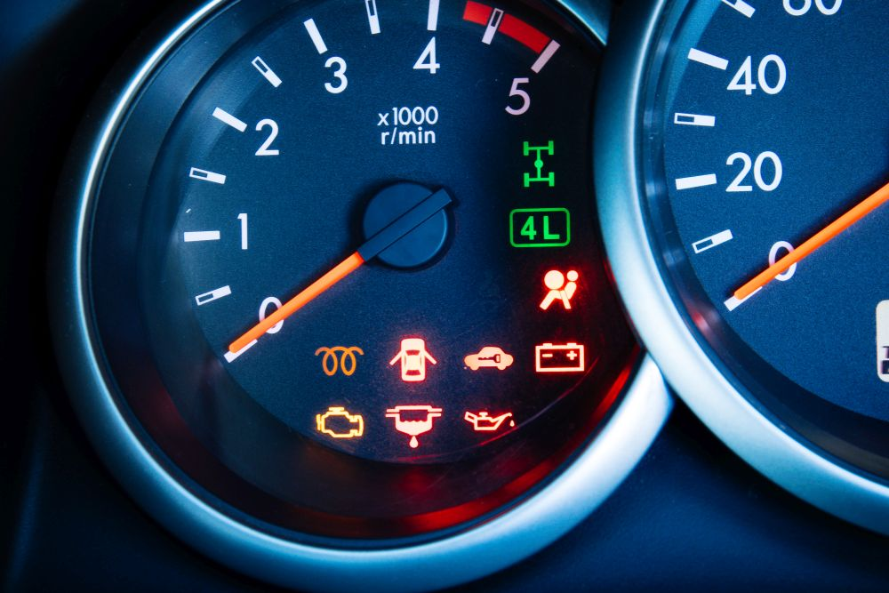Zeichen die im bedeuten auto was Diese Warnleuchten